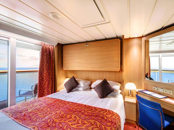 Foto cabina MSC Sinfonia  - Cabina con balcone