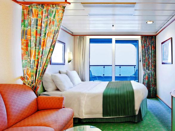 Foto cabina Navigator of the Seas  - Cabina con balcone