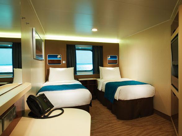 Foto cabina Norwegian Breakaway  - Cabina esterna