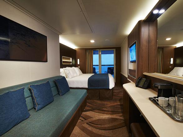 Foto cabina Norwegian Escape  - Cabina con balcone