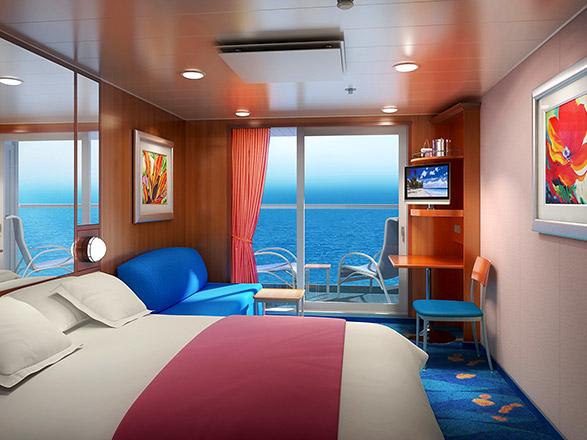 Foto cabina Norwegian Pearl  - Cabina con balcone