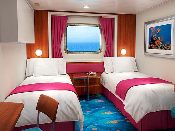 Foto cabina Norwegian Pearl  - Cabina esterna