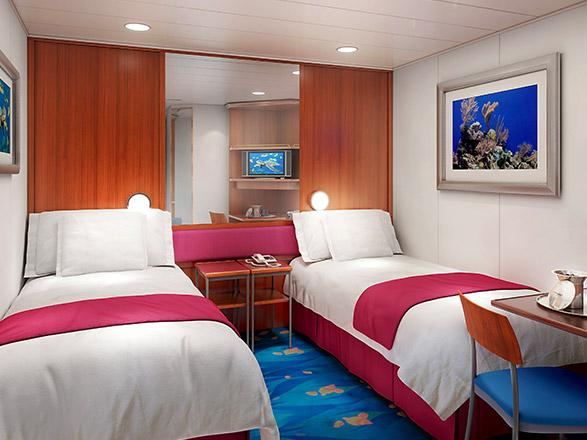 Foto cabina Norwegian Pearl  - Cabina interna