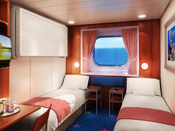 Foto cabina Norwegian Star  - Cabina esterna