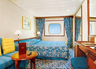 Foto cabina Ocean Princess  - Cabina esterna