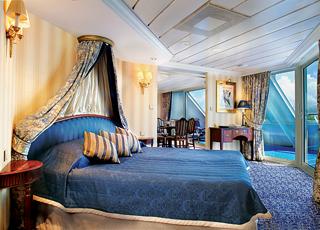 Foto cabina Pacific Princess  - Cabina suite