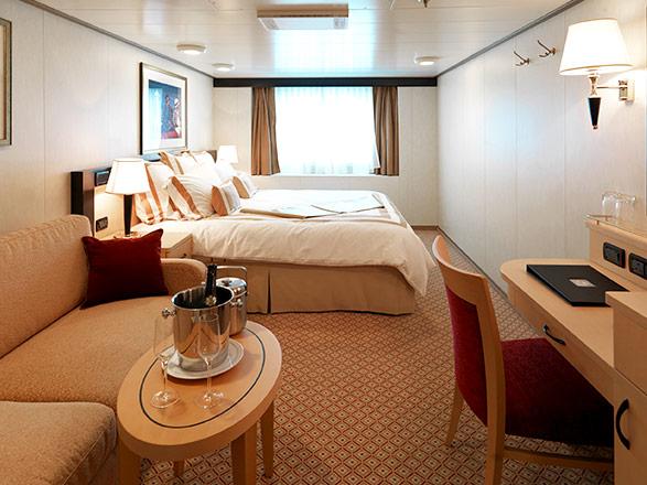 Foto cabina Queen Elizabeth  - Cabina esterna