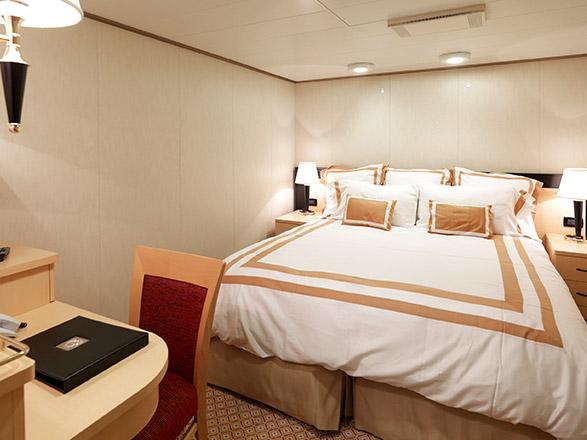 Foto cabina Queen Elizabeth  - Cabina interna