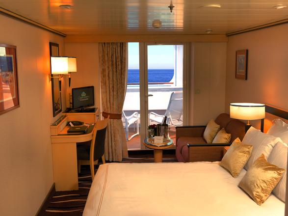 Foto cabina Queen Mary 2  - Cabina con balcone