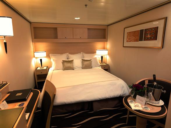 Foto cabina Queen Mary 2  - Cabina interna