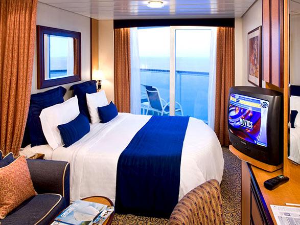 Foto cabina Radiance of the Seas  - Cabina con balcone