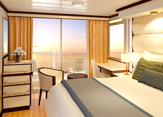 Foto cabina Regal Princess  - Cabina con balcone