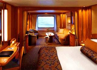Seabourn legend foto video e crociere sulla nave for Grande cabina di lusso orso
