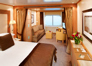 Foto cabina Seabourn Odyssey  - Cabina suite