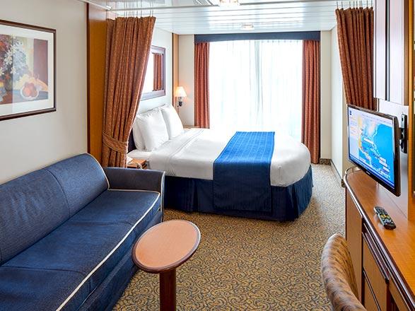 Foto cabina Serenade of the Seas  - Cabina con balcone