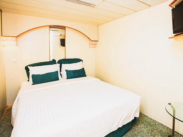 Foto cabina Sovereign  - Cabina interna