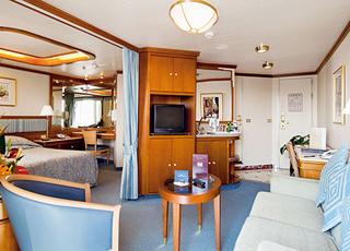 Foto cabina Sun Princess  - Cabina suite