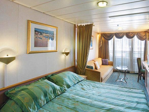 Foto cabina Vision of the Seas  - Cabina con balcone