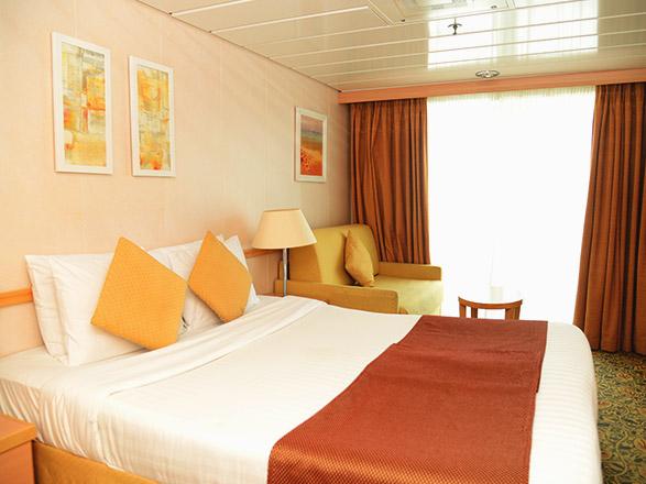 Foto cabina Zenith  - Cabina con balcone