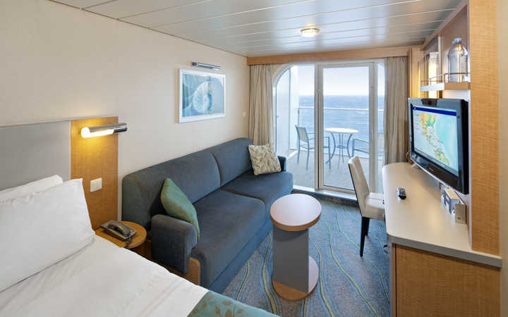 Foto Cabina Allure of the Seas - Cabina Balcone