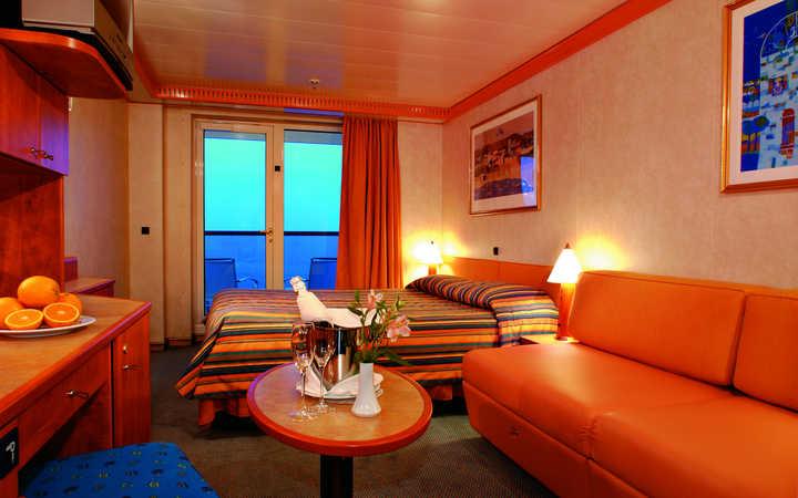 Foto Cabina Costa Mediterranea - Cabina Balcone