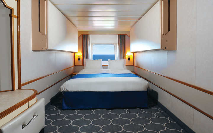 Foto Cabina Empress of the Seas - Cabina Esterna