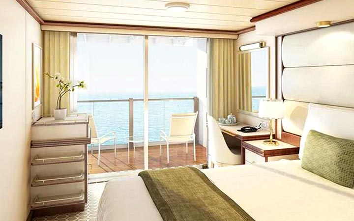 Foto Cabina Enchanted Princess - Cabina Balcone