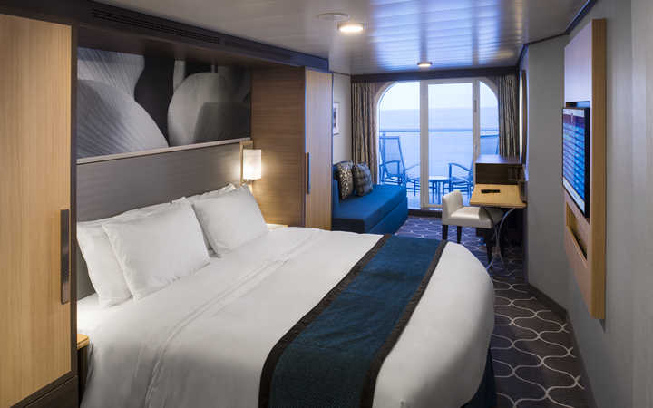 Foto Cabina Harmony of the Seas - Cabina Balcone