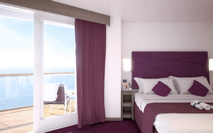Foto Cabina MSC Seaside - Cabina Balcone