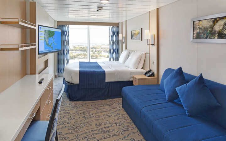 Foto Cabina Navigator of the Seas - Cabina Balcone