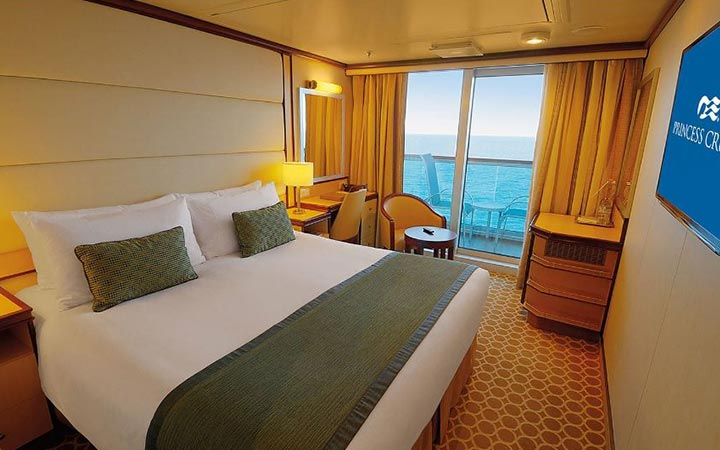 Foto Cabina Regal Princess - Cabina Balcone