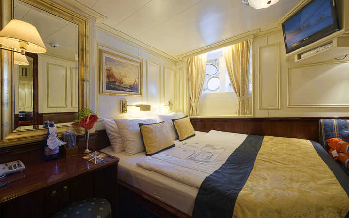 Foto Cabina Royal Clipper - Cabina Esterna