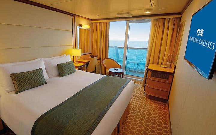 Foto Cabina Royal Princess - Cabina Balcone