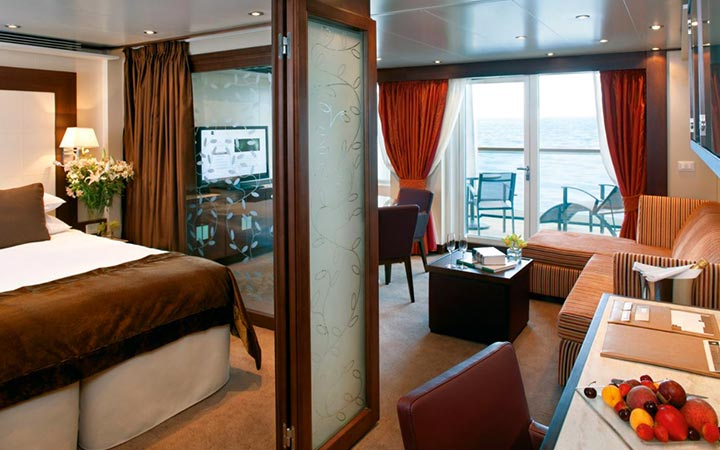 Foto Cabina Seabourn Sojourn - Cabina Suite