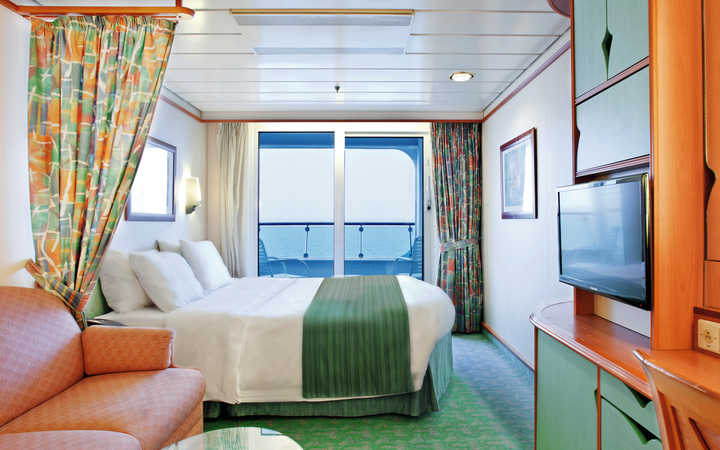 Foto Cabina Voyager of the Seas - Cabina Balcone