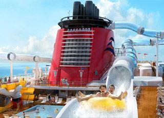 Disney fantasy foto video e crociere sulla nave disney for Cabine sulla sponda nord