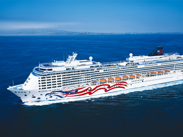 Capodanno a bordo della Pride of America