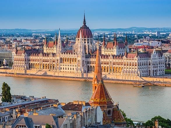 croisière Danubio : Danubio Blu: da Budapest a Passau