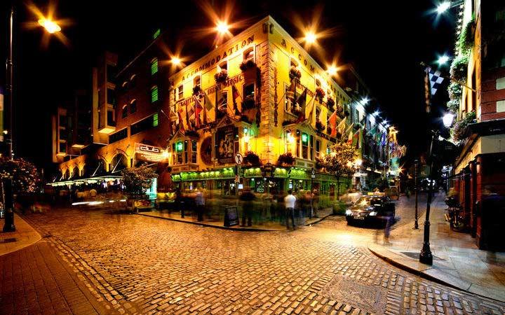 Crociera Dublino