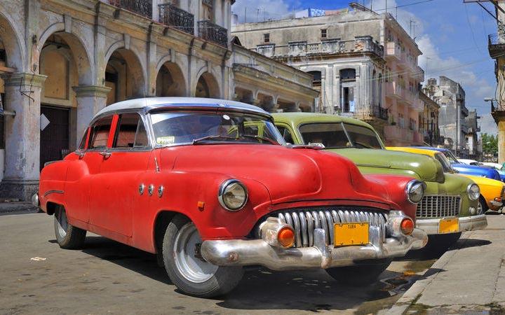 Cuba, Belize, Honduras, Messico
