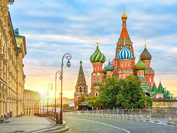 croisière Volga e Dnieper - Volga e Dnieper : La maestosità del Volga: da Mosca a San Pietroburgo (12M_PP)
