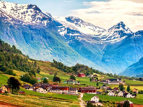 Crociera Olden(Norvegia)