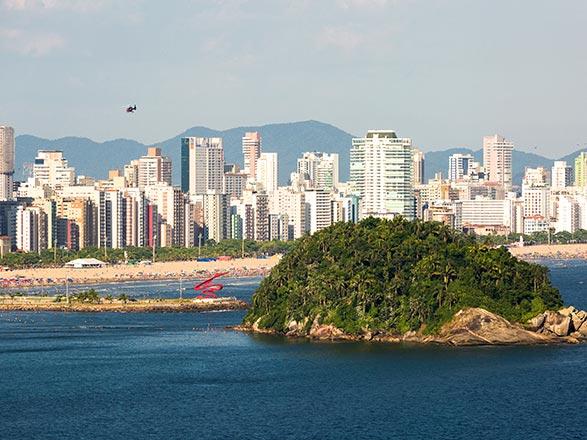 croisière Sud America : Da Santos a Salvador de Bahia