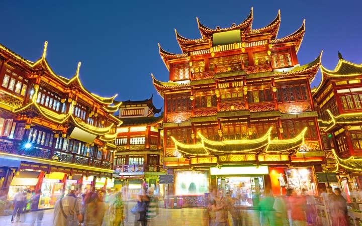 Crociera Shanghai (Baoshan)