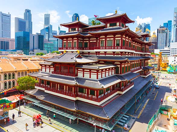Crociera Singapore